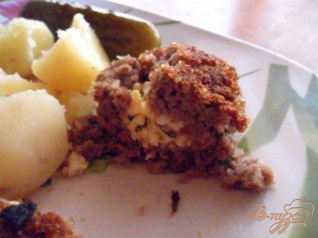Рецепт Гречаники мясные, фаршированные яйцом