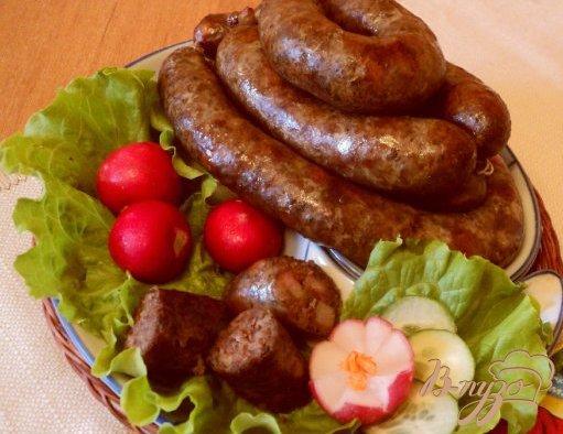 фото рецепта: Колбаса домашняя «Пикантная».