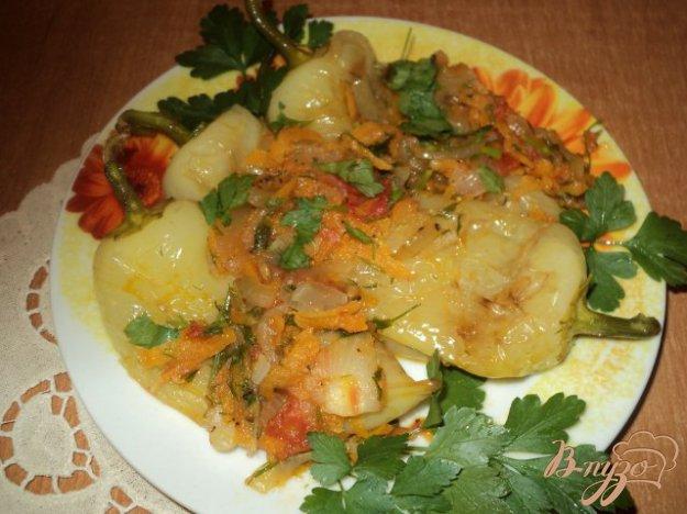 Рецепт Перец жареный с кисло-сладким соусом.