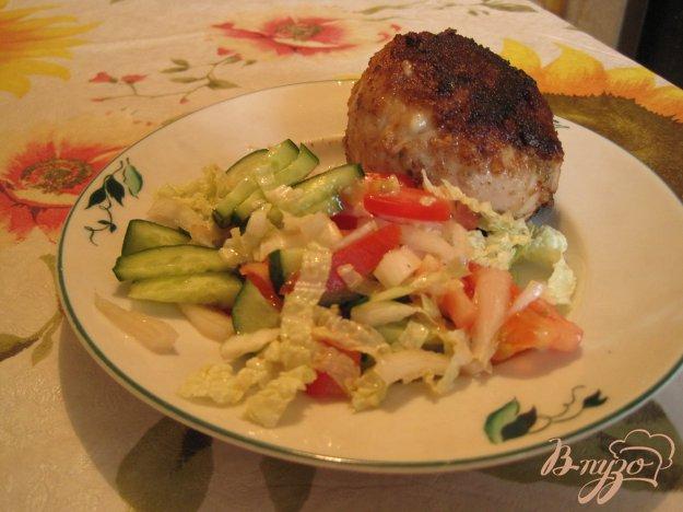 Рецепт Котлеты из куриного филе с сыром