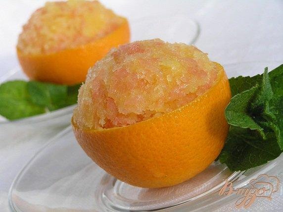 Рецепт Апельсиново-грейпфрутовая гранита