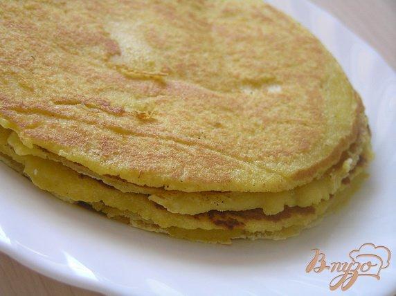 Рецепт Мексиканские лепешки тортилья