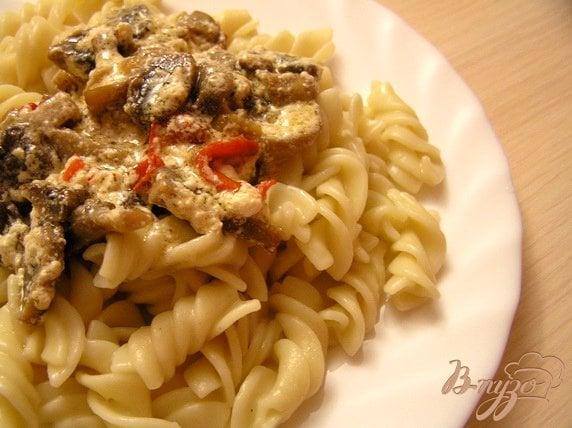 Рецепт Паста с грибным соусом