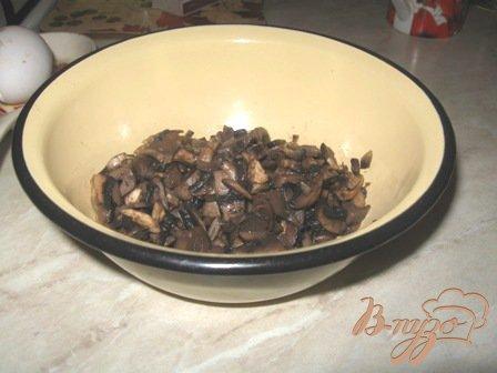 Оладьи кабачковые с грибами