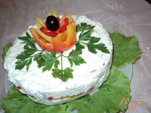 Рецепт Чиз-кейк «Пикантный»