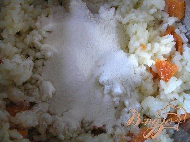 Рисовые котлеты  в кунжутной панировке (постные)