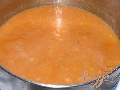 Суп-пюре из белой фасоли с пастой