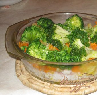 Рецепт Запеканка из рыбы с брокколи