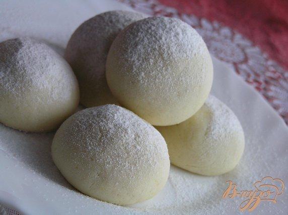 Фото приготовление рецепта: Печенье Тающий снег шаг №5