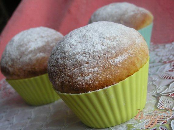 Рецепт Творожные булочки с авокадо и яблоком