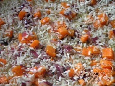 Фаршированные перцы с рисом и шпинатом