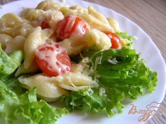 Рецепт Лимонная паста с черри