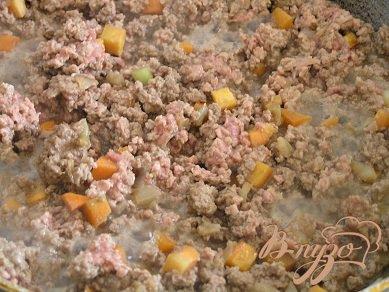 Лазанья под розовым соусом