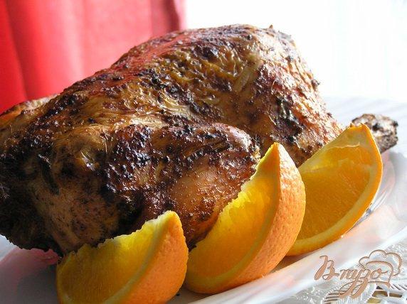 Рецепт Курица с апельсином по-испански
