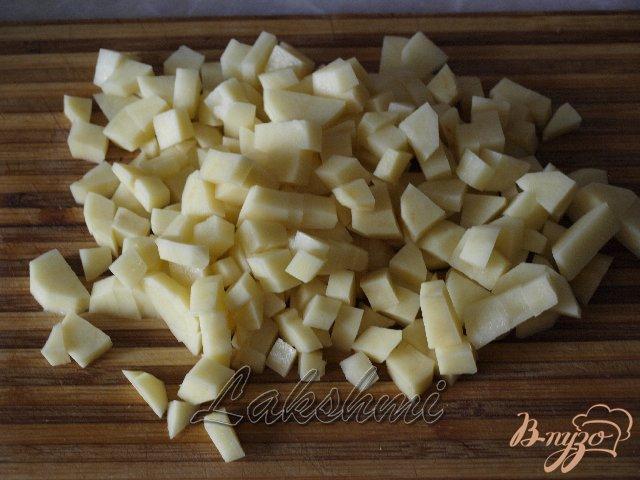 Фото приготовление рецепта: Перловое рагу шаг №2