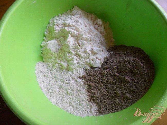 Фото приготовление рецепта: Пшеничный хлеб с льняной мукой шаг №1