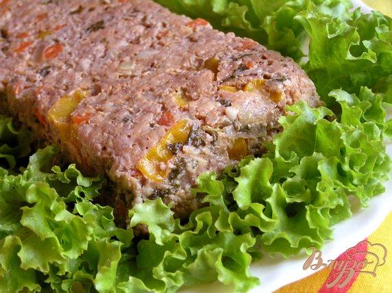 Рецепт Мясной террин с овощами и каперсами