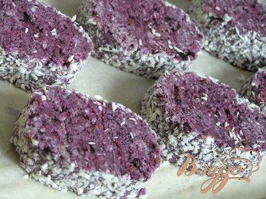 Черничное печенье
