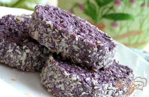 Рецепт Черничное печенье
