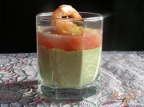 Рецепт Креветки с грейпфрутом и авокадо