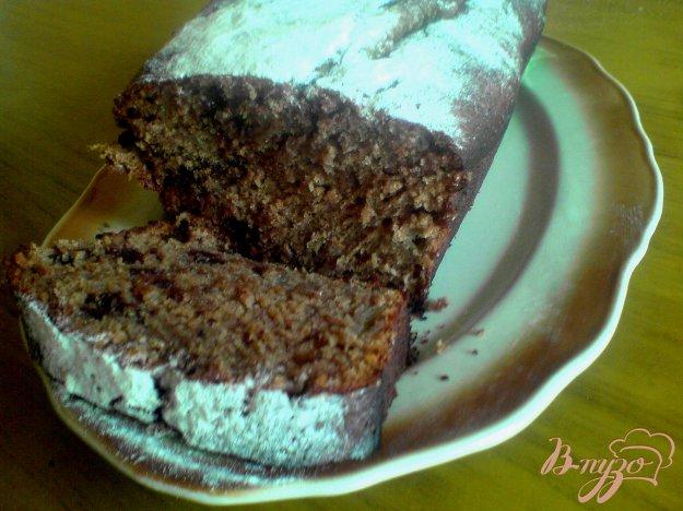 Рецепт Шоколадно-банановый кекс
