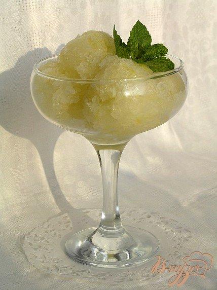 Фото приготовление рецепта: Лимонно-лаймовый сорбет шаг №5