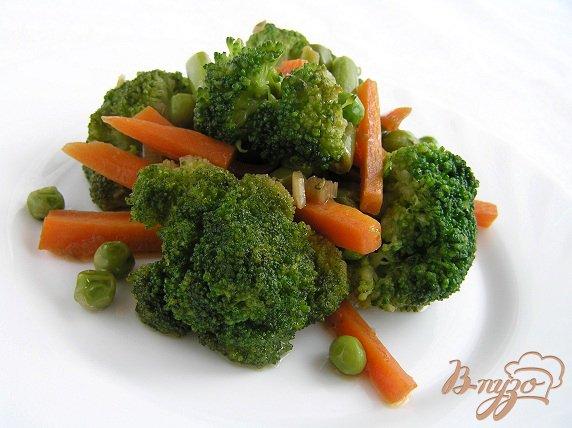 Рецепт Зеленое рагу с имбирем и морковью