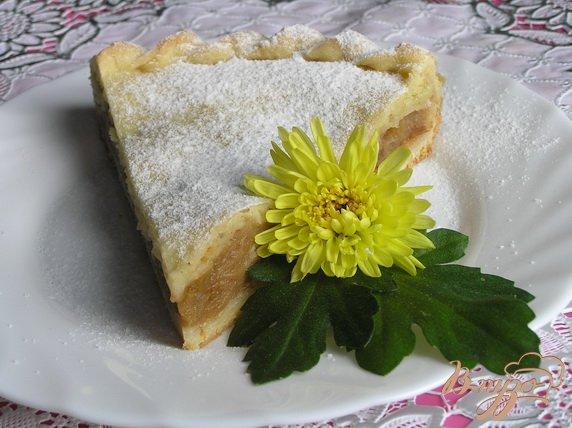 фото рецепта: Грушево-яблочный пирог с корицей