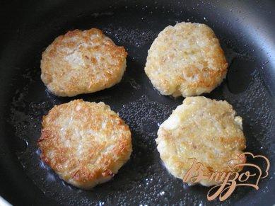 Котлеты из картофеля и овсянки с базиликом