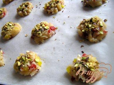 Флорентийское печенье с фисташками