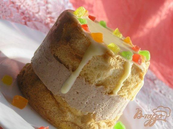 Фото приготовление рецепта: Мини-торт