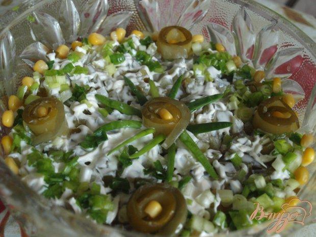 интересный рецепт салата из огурцов