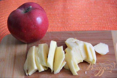 """Гратин из макарон и копчeного лосося с яблоком """"Итальянская фантазия"""""""