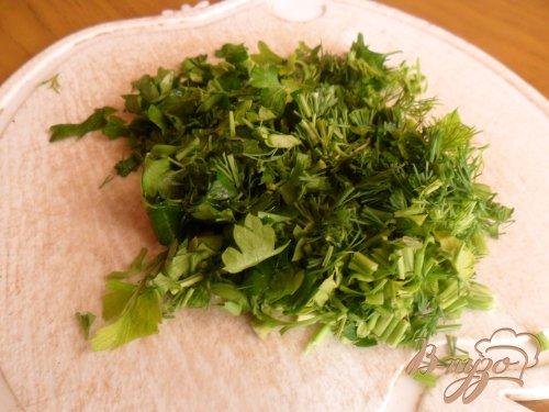 Творожные оладьи с зеленью