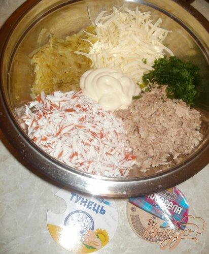 Бутербродная масса с тунцом