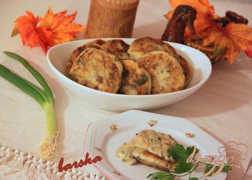 Картопляники с сушеными грибами