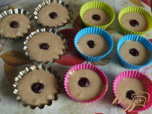 Имбирные кексы с фруктами