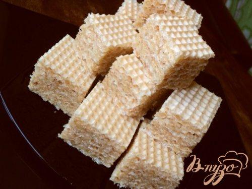 Вафельные пирожные «Соты»