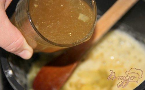 Ленивая курица со сливочно-лимонным соусом