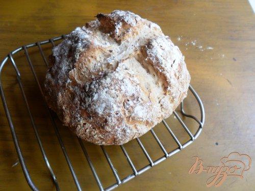 Серый содовый хлеб