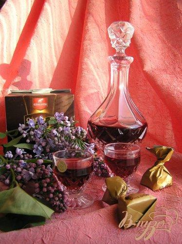 Домашний малиновый ликер с ванилью