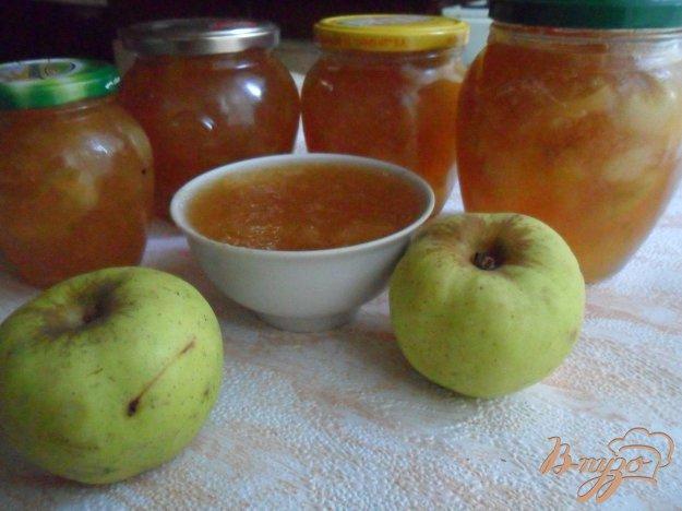 фото рецепта: Яблочно-имбирный джем