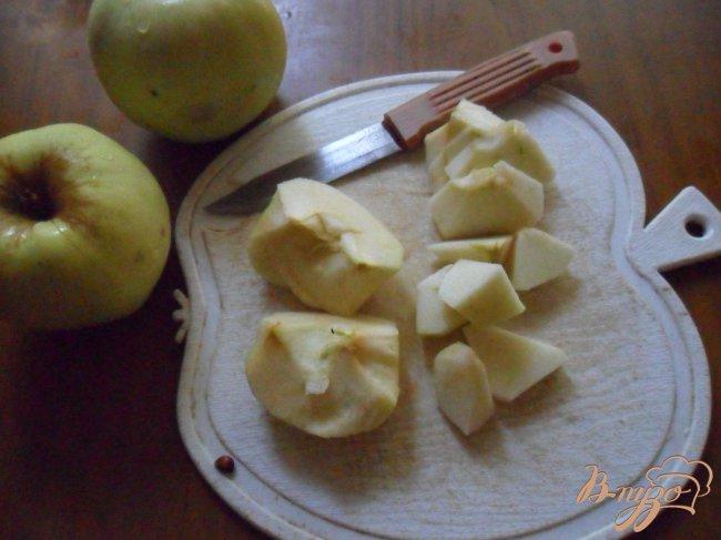Фото приготовление рецепта: Яблочно-имбирный джем шаг №1