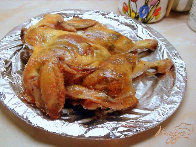 Рецепт Курочка фаршированная грибами и сыром.