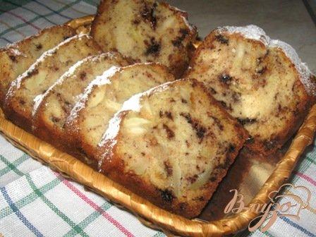 Рецепт Кекс с яблоками и шоколадом
