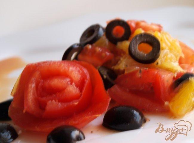 Фото приготовление рецепта: Сальса из апельсина и помидора шаг №3