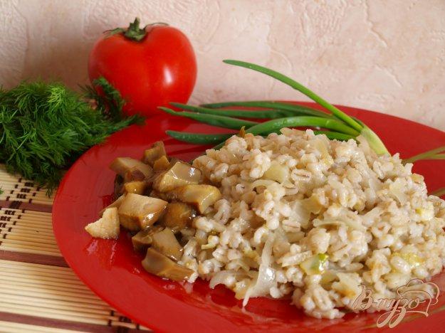 Рецепт Перловая каша с картофелем