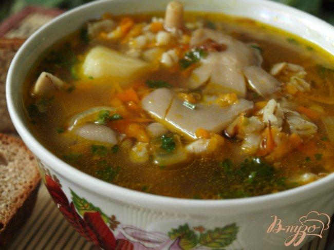 суп из вешенок рецепт с фото