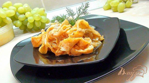 Рецепт Капуста, тушённая в духовке.