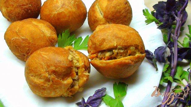 Рецепт Феткук, жареные пирожки с тунцом.